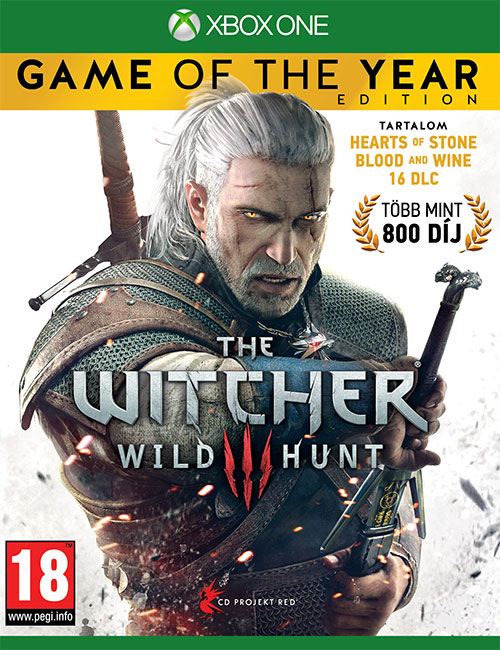 The Witcher 3 Wild Hunt Game Of The Year Edition - Xbox One Játékok