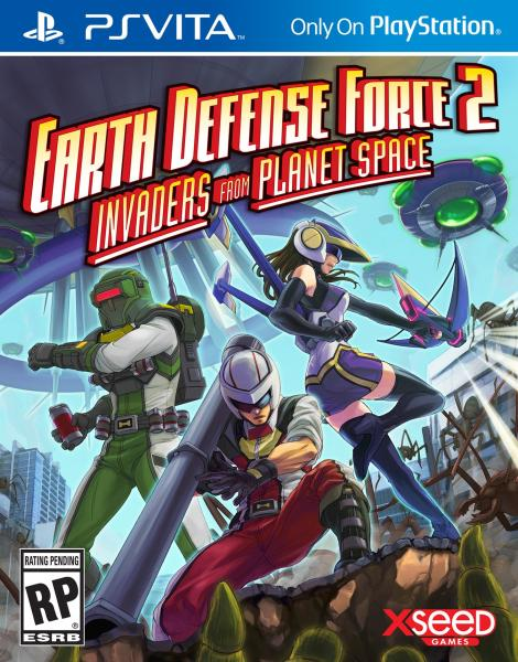 Earth Defense Force 2 Invaders from Planet Space - PS Vita Játékok