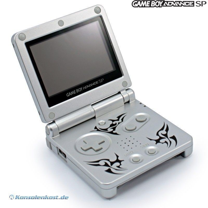 Nintendo Game Boy Advance SP Tribal Edition
