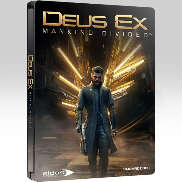 Deus Ex Mankind Divided Limited Steelbook Edition (Ps4)