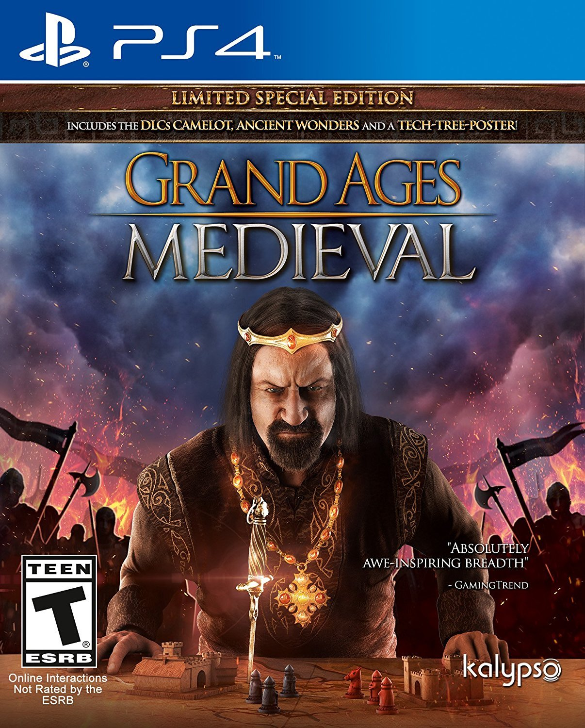Grand Ages Medieval - PlayStation 4 Játékok