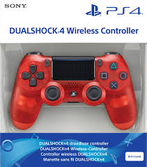 DualShock 4 V2 Wireless Controller Red Crystal