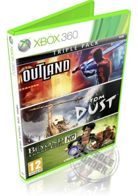 Triple Pack (Beyond Good and Evil HD - Outland - From Dust)