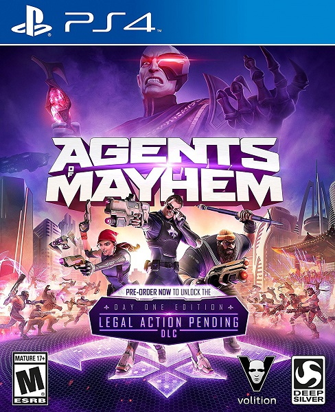 Agents Of Mayhem - PlayStation 4 Játékok