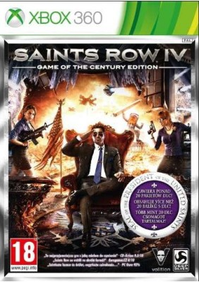 Saints Row IV Game of the Century Edition - Xbox 360 Játékok