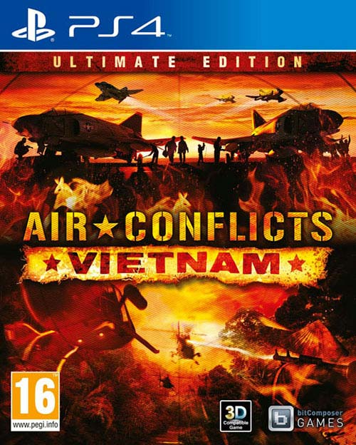 Air Conflicts Vietnam Ultimate Edition - PlayStation 4 Játékok