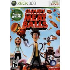 Cloudy With a Chance of Meatballs - Xbox 360 Játékok