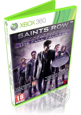 Saints Row The Third  The Full Package - Xbox 360 Játékok