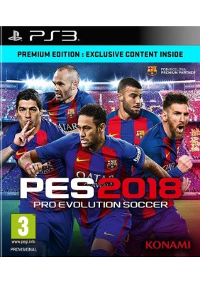 Pro Evolution Soccer 2018 Premium Edition (PES 18) - PlayStation 3 Játékok