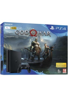 PlayStation 4 Slim 1 TB + God of War