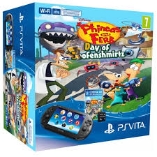 PlayStation Vita Slim (Wi-Fi) + 1 GB + Phineas and Ferb