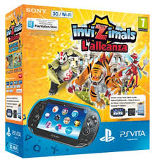 PlayStation Vita Slim (Wi-Fi) + Invizimals: The Resistance