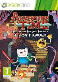 Adventure Time Explore the Dungeon Because I dont know - Xbox 360 Játékok