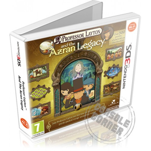 Professor Layton and the Azran Legacy (német)