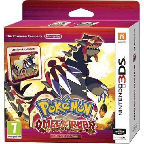 Pokémon Omega Ruby Limited Edition
