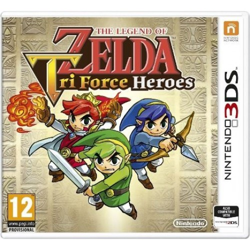 The Legend of Zelda Tri Force Heroes - Nintendo 3DS Játékok