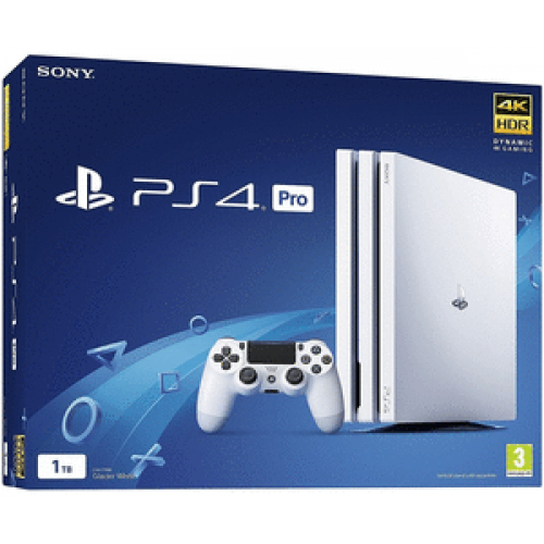 PlayStation 4 Pro 1 TB (Glacier White)