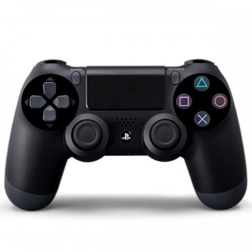 Sony DualShock 4 Wireless Controller Fekete - PlayStation 4 Kontrollerek