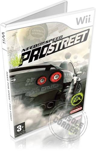 Need For Speed Pro Street - Nintendo Wii Játékok