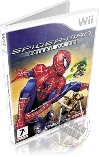 Spider Man Friend or Foe - Nintendo Wii Játékok