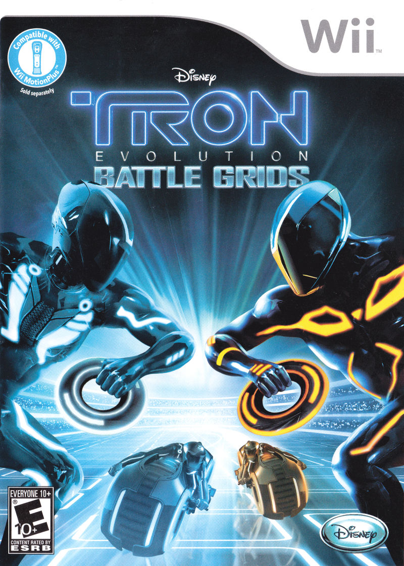 Tron Evolution Battle Grids