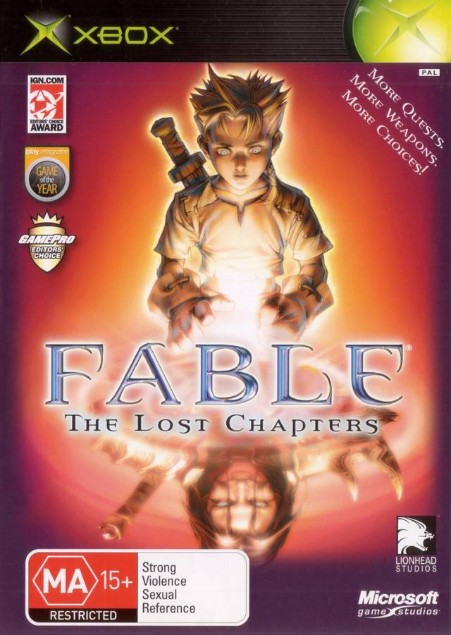 Fable The Lost Chapters - Xbox Classic Játékok