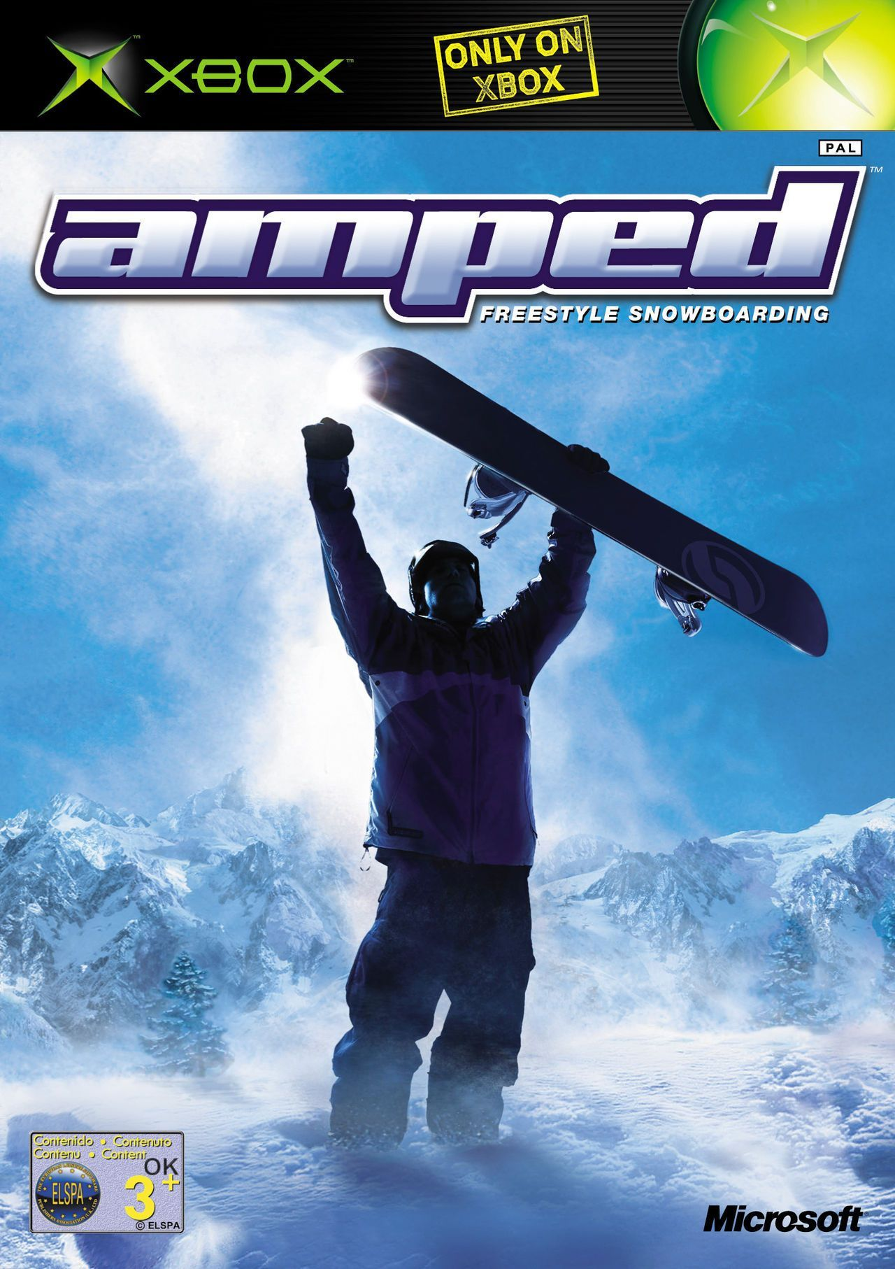 Amped Freestyle Snowboarding