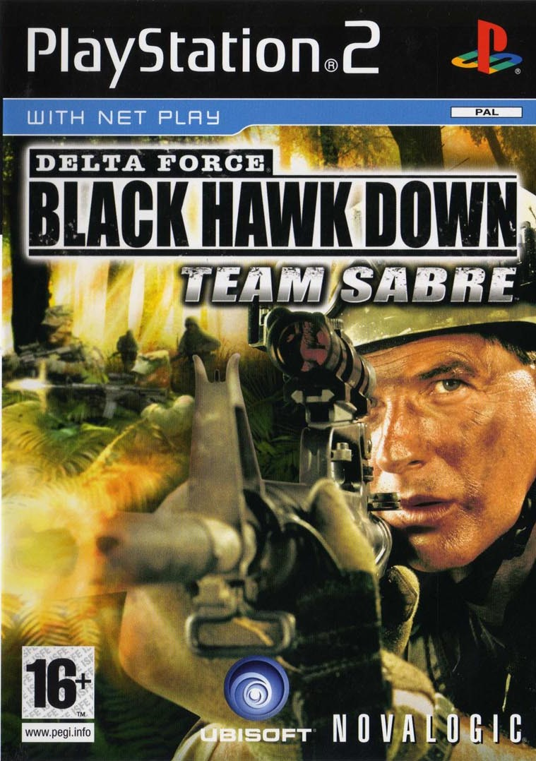 Delta Force Black Hawk Down Team Sabre - PlayStation 2 Játékok