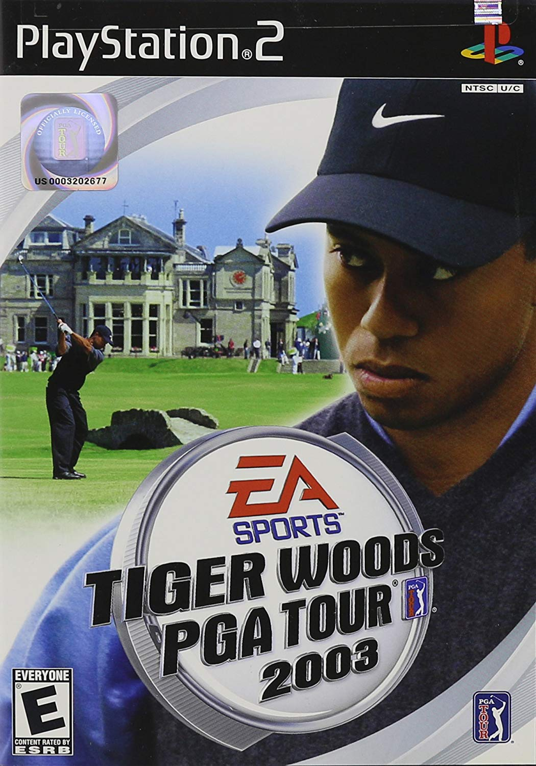 Tiger woods PGA tour 2003