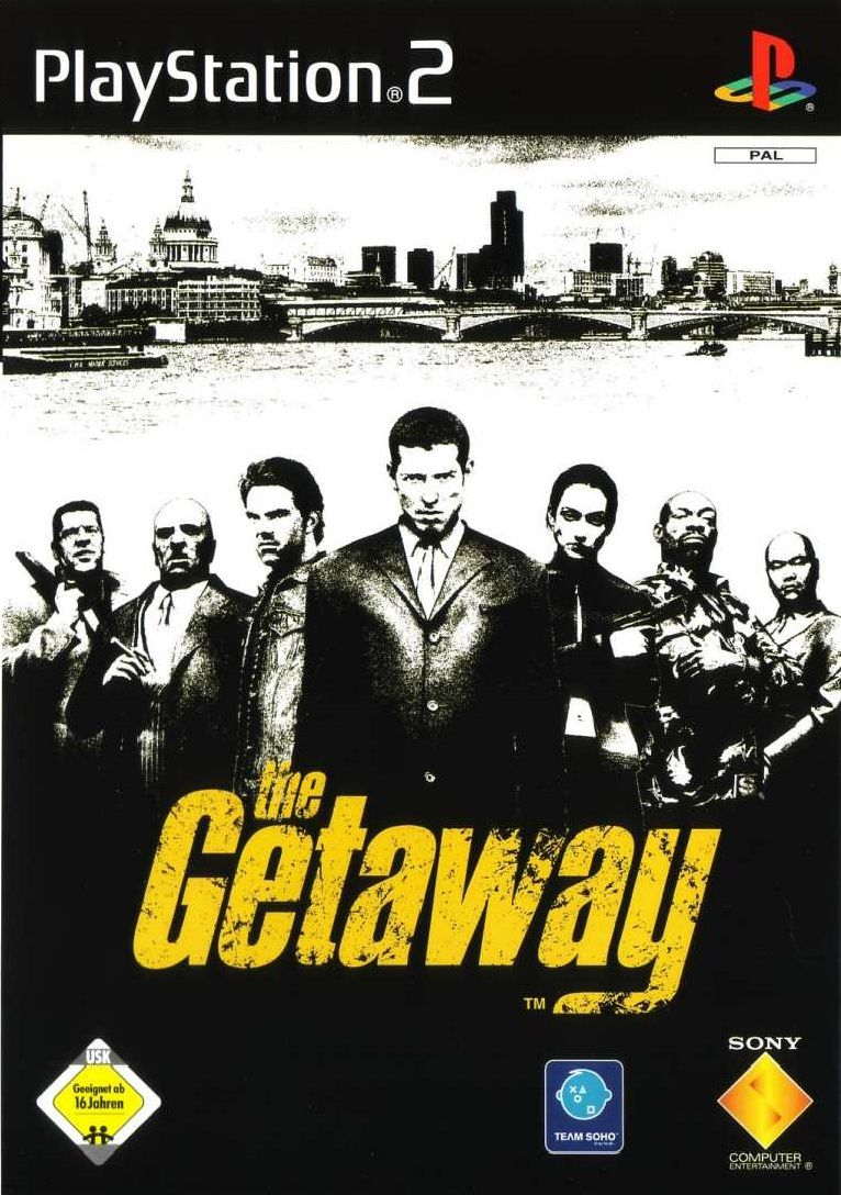 The Getaway - PlayStation 2 Játékok