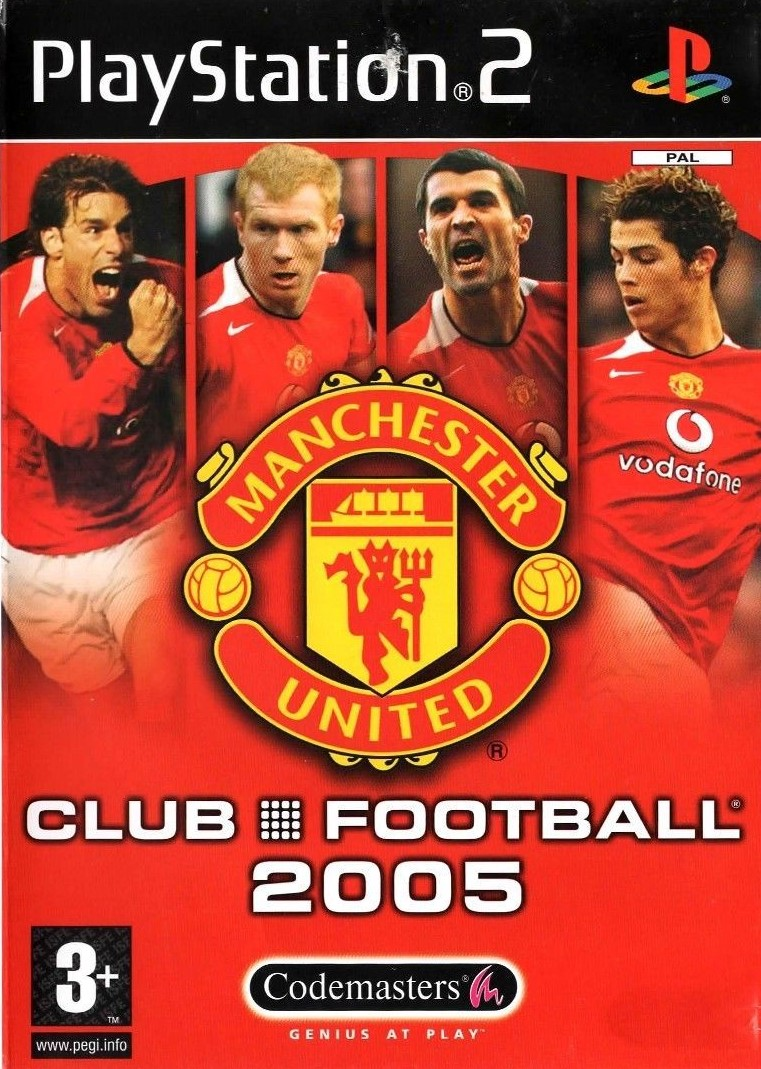 Manchester United Club Footbal 2005 - PlayStation 2 Játékok