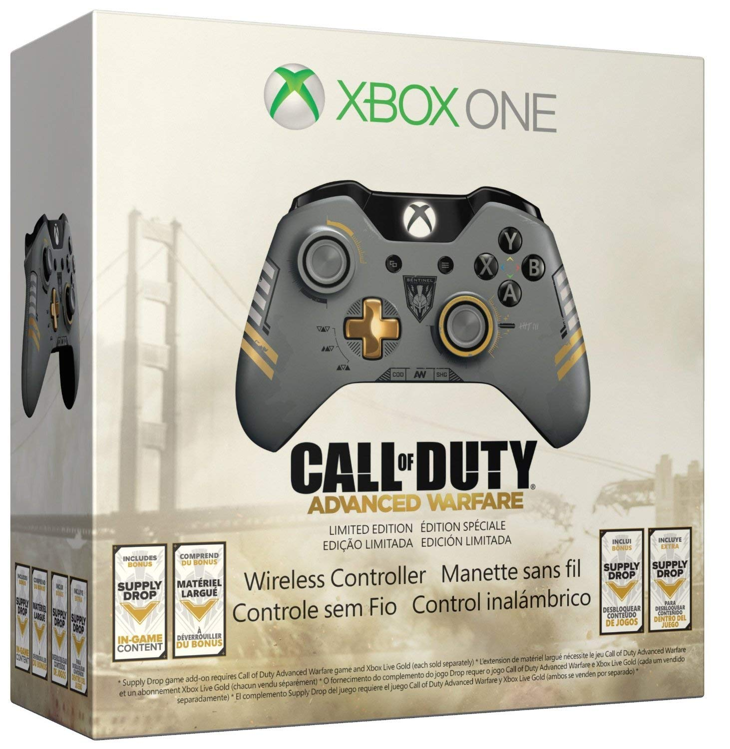 Xbox One Wireless Controller Call of Duty Advanced Warfare Limited Edition