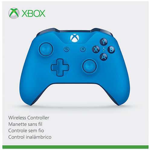 Xbox One Wireless Controller Blue 3.5mm Jack csatlakozóval