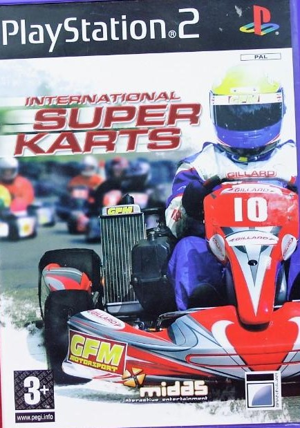 International Super Karts - PlayStation 2 Játékok