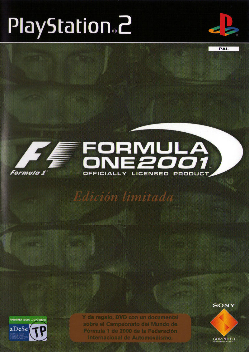 Formula One 2001 Officially Licensed Product
