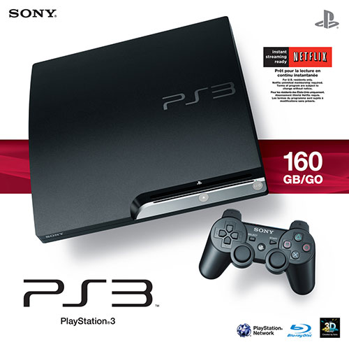 Sony Playstation 3 Slim 160 GB - PlayStation 3 Gépek