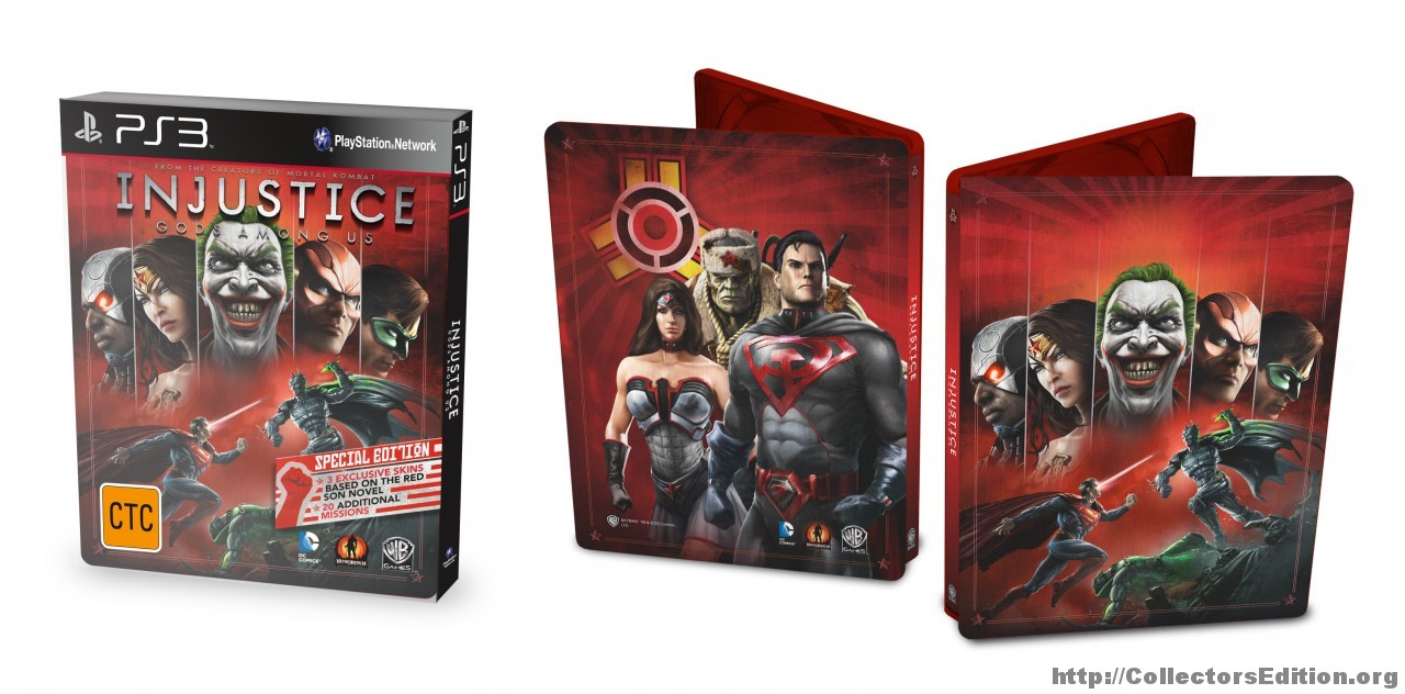 Injustice Gods Among Us  Special Edition