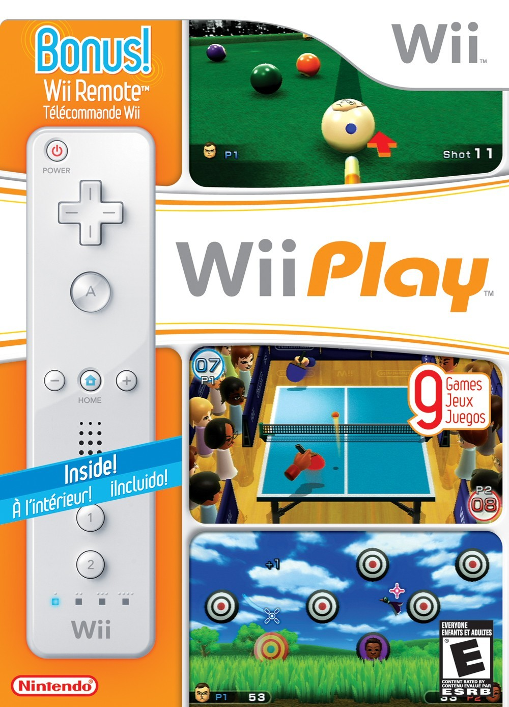 Wii Play + Kontroller