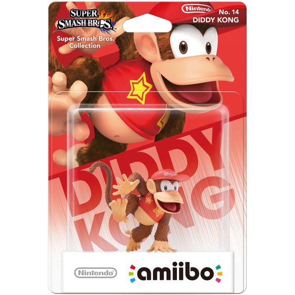 Diddy Kong 14 Super Smash Bros Amiibo