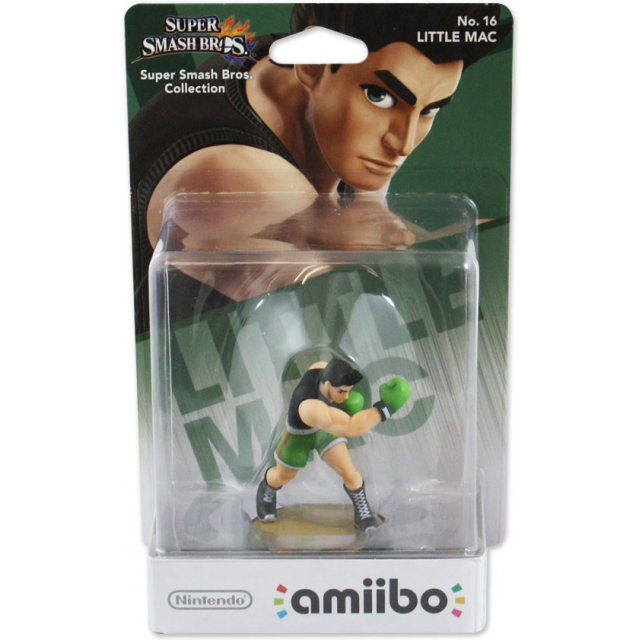 Little Mac 16 Super Smash Bros Amiibo