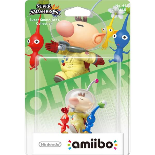 Olimar 44 Super Smash Bros Amiibo