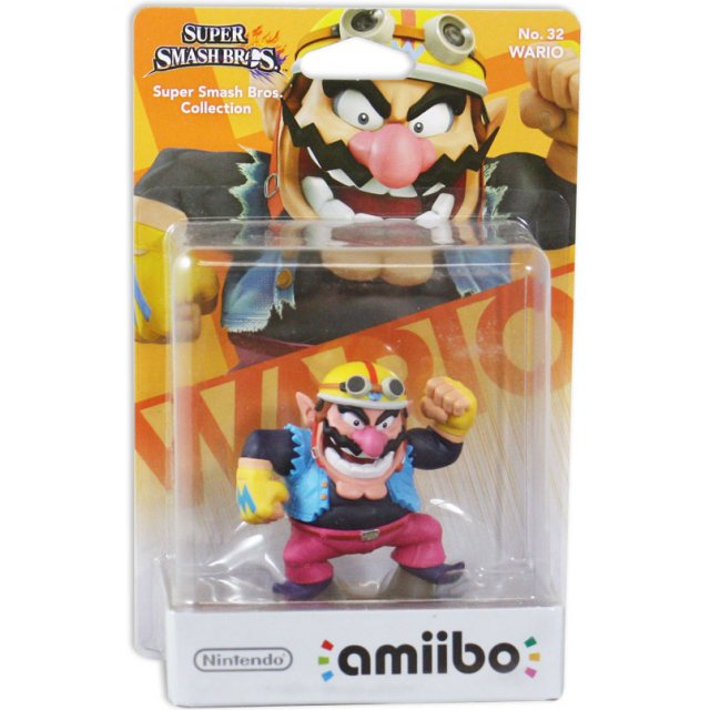 wario super smash bros Amiibo