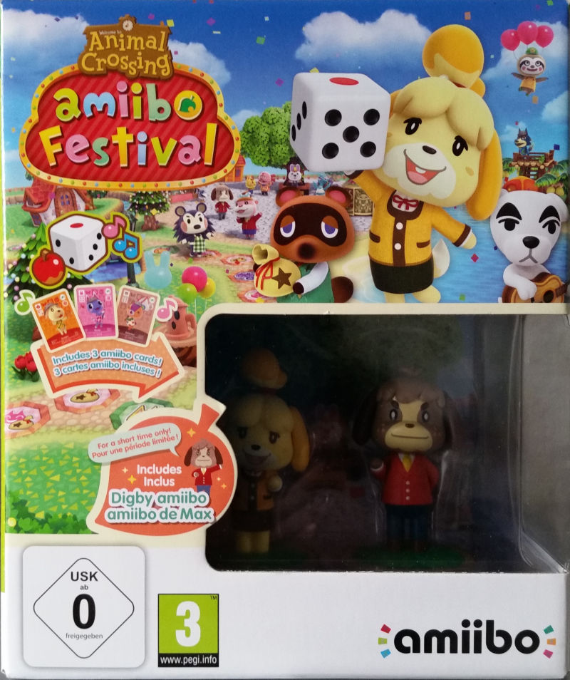 Wii U Animal Crossing Amiibo Festival  Amiibo