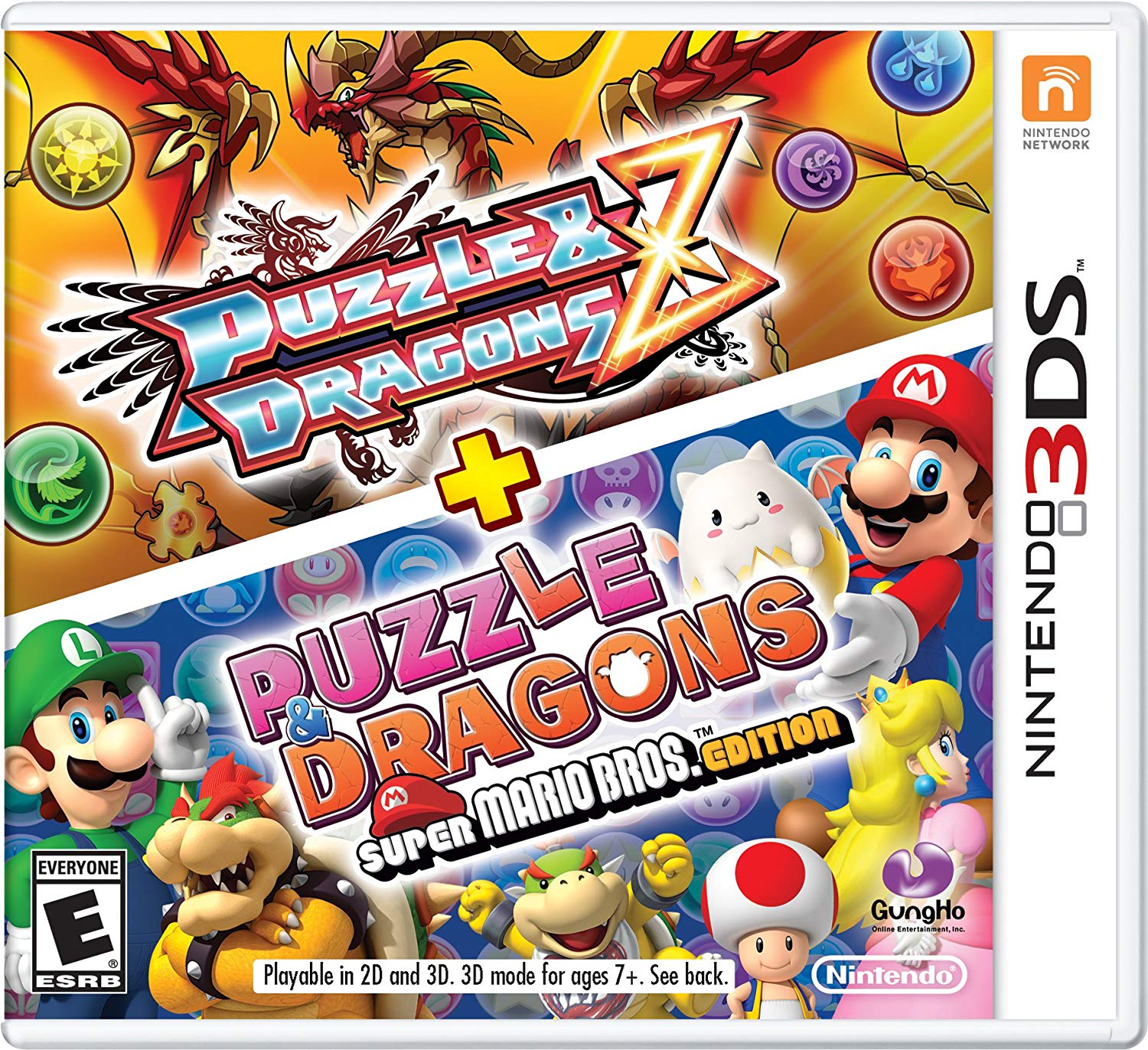 Puzzle & Dragons Z + Puzzle& Dragons Super Mario Bros. Edition