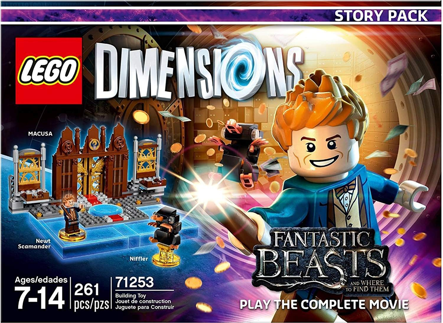Fantastic Beasts and Where to Find Them Story Pack (71253)