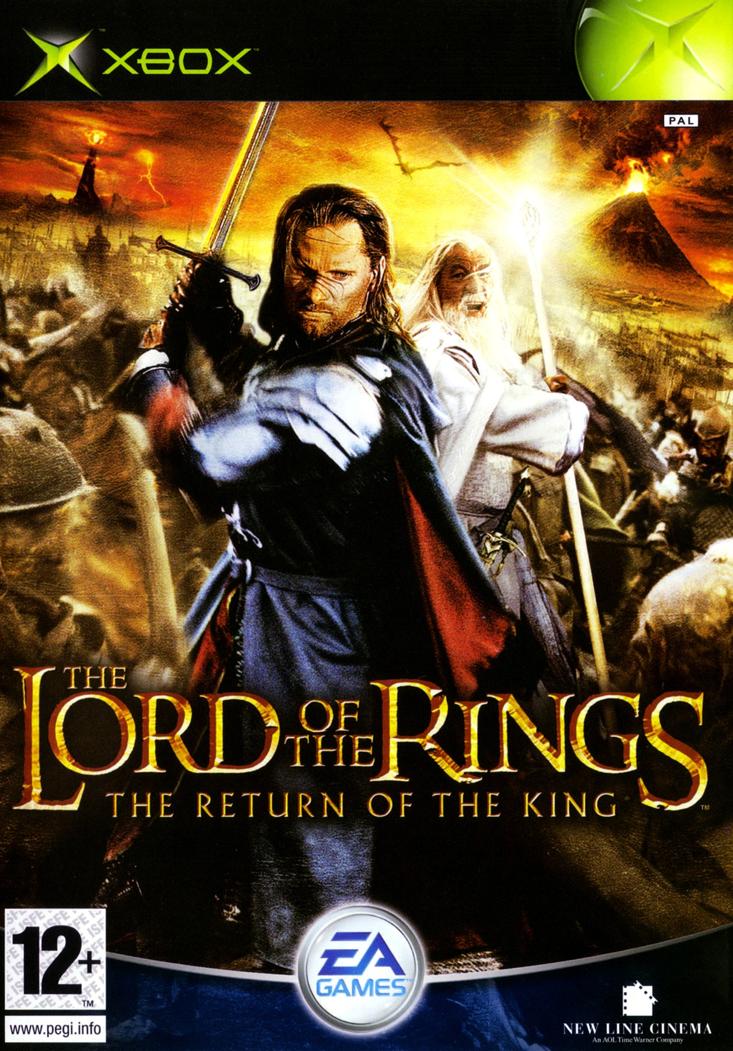 The Lord of the Rings The Return of the King - Xbox Classic Játékok