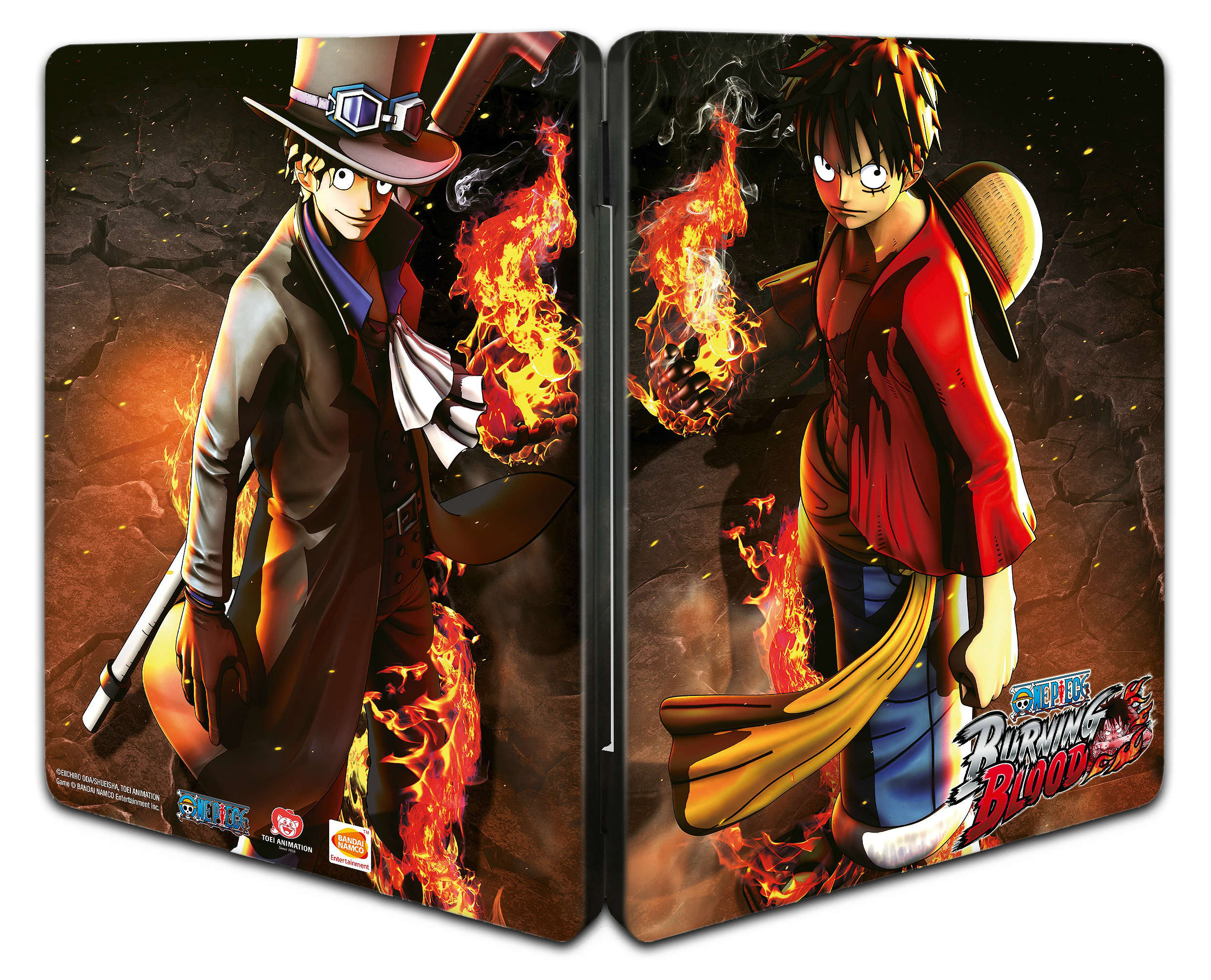One Piece Burning Blood (Steelbook)