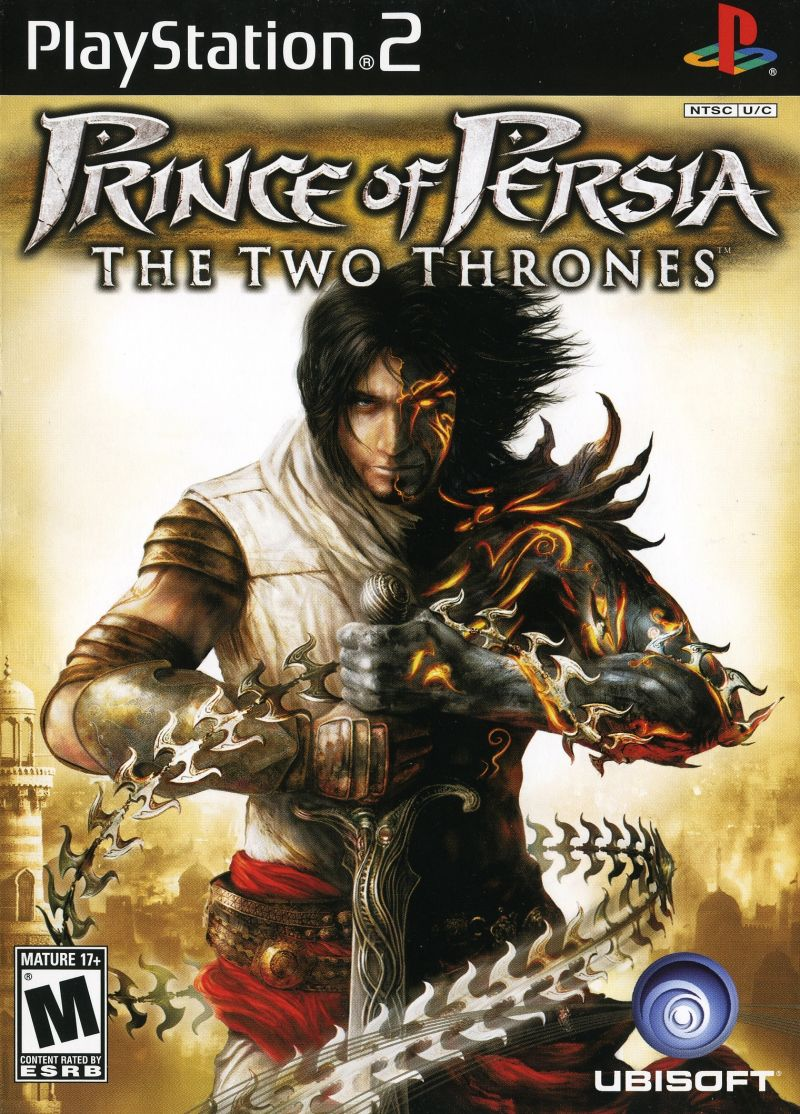 Prince of Persia The Two Thrones - PlayStation 2 Játékok