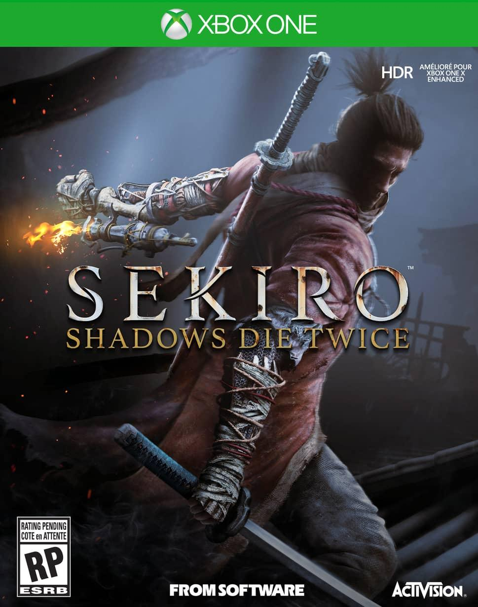Sekiro Shadows Die Twice - Xbox One Játékok