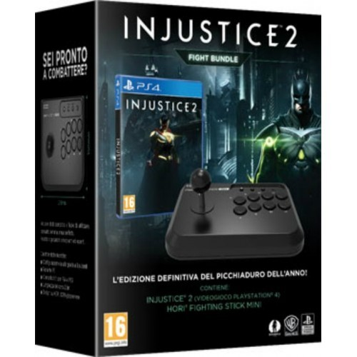 Injustice 2 + Hori Fighting Stick Mini